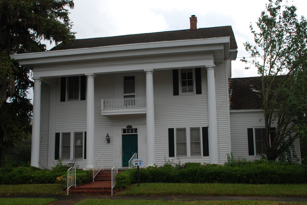 HENRY JEFFERSON DAVIS HOUSE 1892 LEGAL SERVICES OF NORTH FLORIDA 112 North Jackson Street Quincy Florida In Henry Jefferson Davis Jr And His Wife